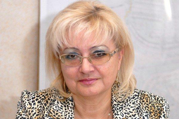 Anna Hóková. Končí jej funkčné obdobie.
