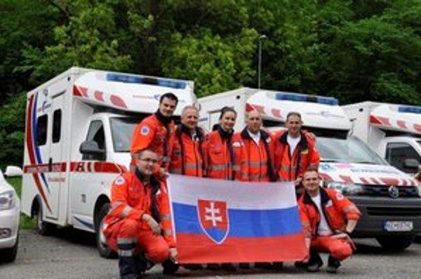 Košickí záchranári. Uspeli v medzinárodnej súťaži.