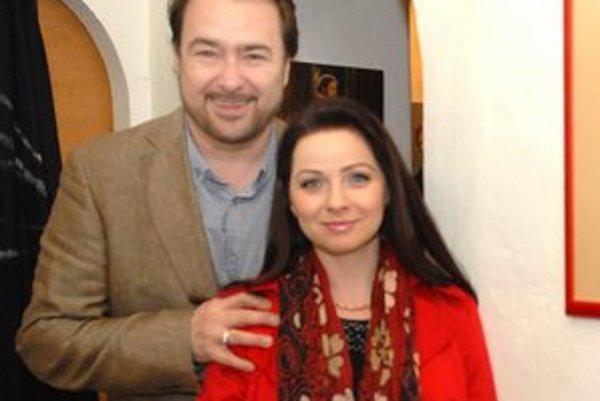 Jaroslav Dvorský s priateľkou.