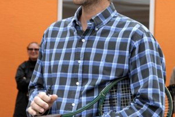 Miloš Mečíř starší. Riaditeľ košického turnaja.