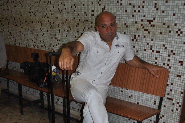 Xhavit Visoka na súde.