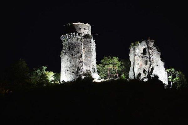 Slanecký hrad.