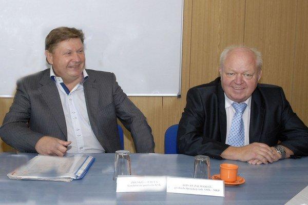 Z. Trebuľa a I. Zachariás. Košický župan a moldavský primátor.