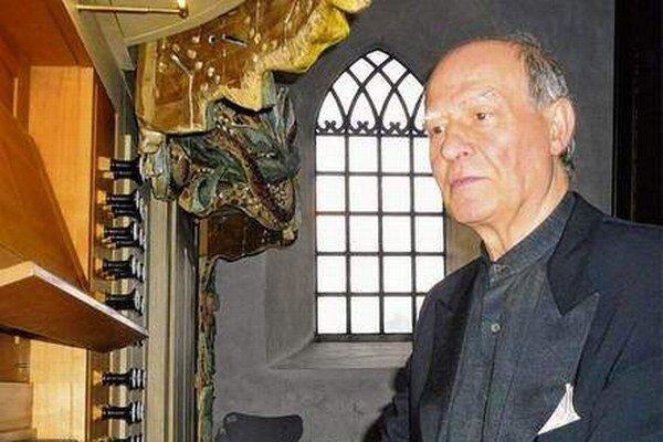 Roberto Micconi. Koncert talianskeho majstra otvorí organový festival.