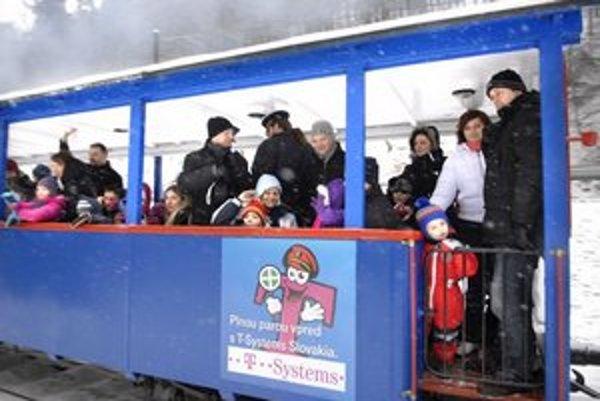 Deti si zimnú jazdu užili.