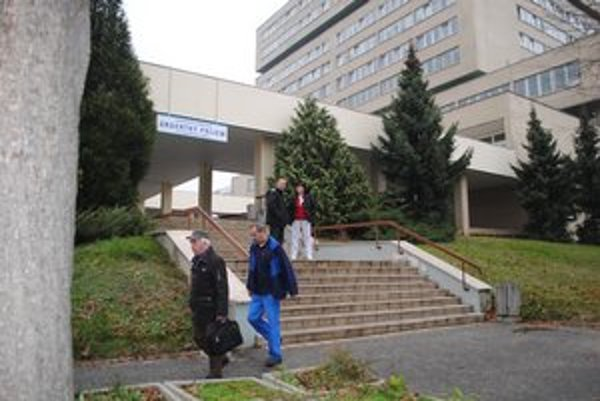 Nemocnica v Prešove. Na operáciu v tomto zariadení Zemplínčanka nikdy nezabudne.