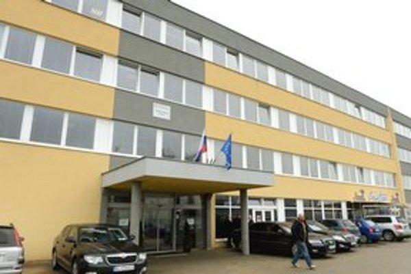 Budova Daňového úradu Košice.