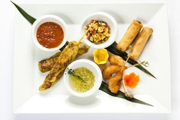 Thajské jedlá sú chutné aj keď trošku štípu.