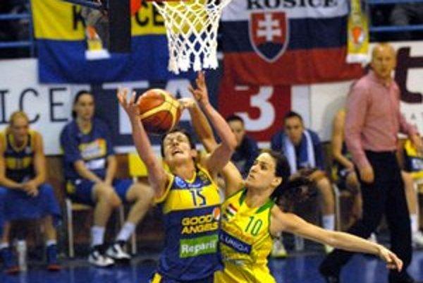 Skvelá sezóna. Basketbalistky Good Angels si udržali domácu neporaziteľnosť.