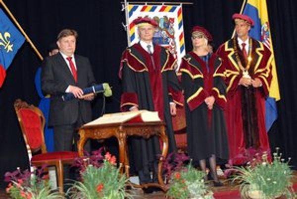 Ocenenie dostal aj košický župan Z. Trebuľa.