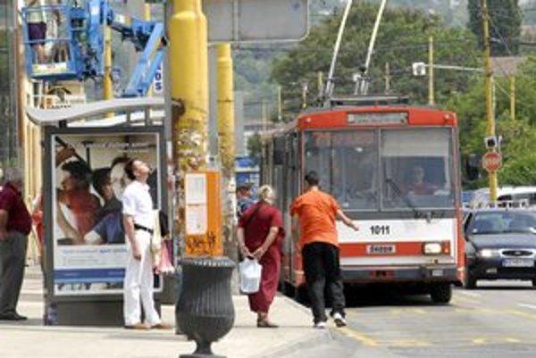 Trolejbusy majú zmiznúť z košických ulíc.