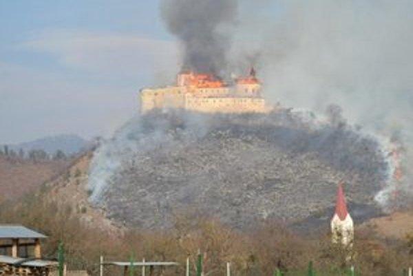 Ničivý požiar