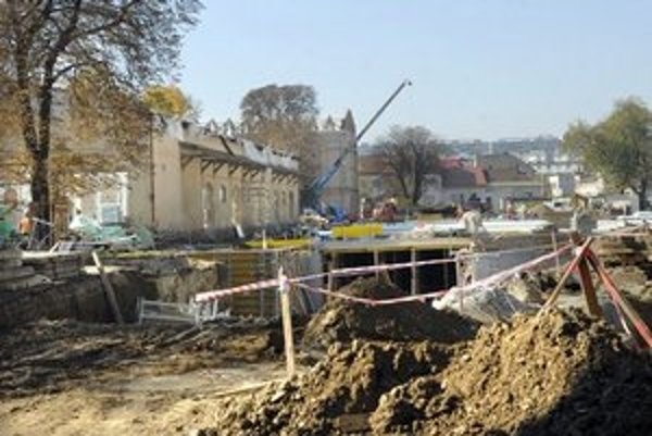 Radnica chce otvorenie Kulturparku v máji 2013.