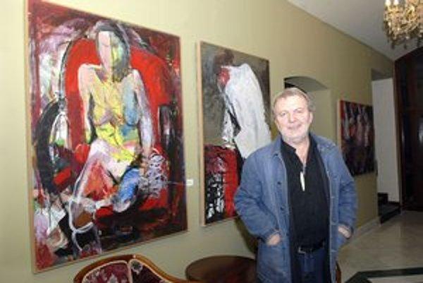 Známy košický výtvarník. Tvorbu Dušana Baláža nájdete v hoteli Bankov i v galérii VEBA.