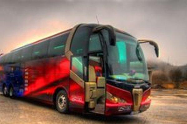 Fanúšikovia si prídu na svoje. Môžu si prezrieť autobus katalánskeho veľkoklubu FC Barcelona.