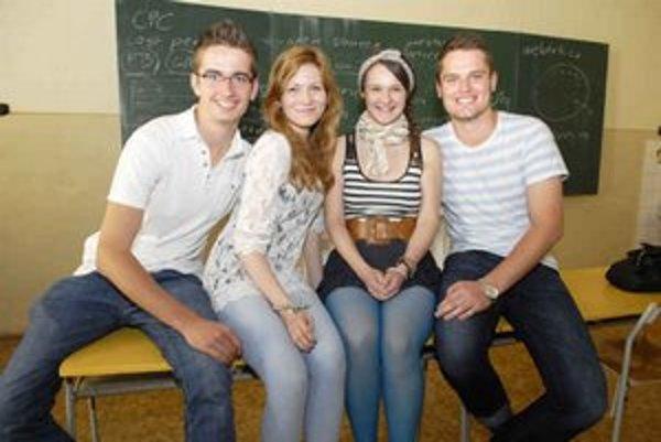 Michal, Tereza, Juliana a Matej podnikajú už ako študenti.