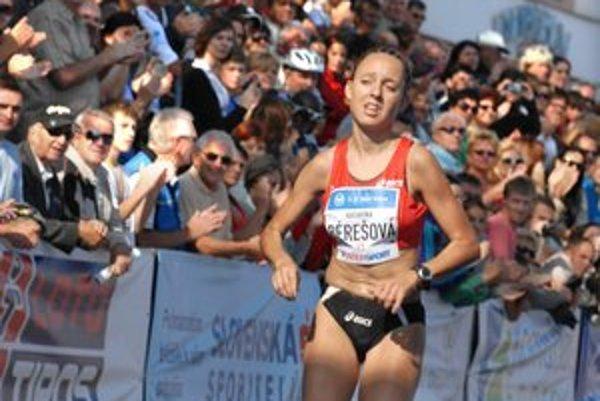 Katarína Bérešová. Pokorí traťový rekord v rámci olympijskej prípravy?