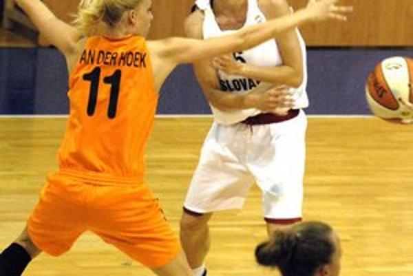 Lucia Kupčíková. V Holandsku kapitánka svoj tím potiahla.