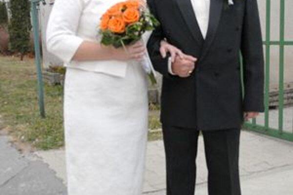 Eva a Radko. Novomanželia veria číslam.