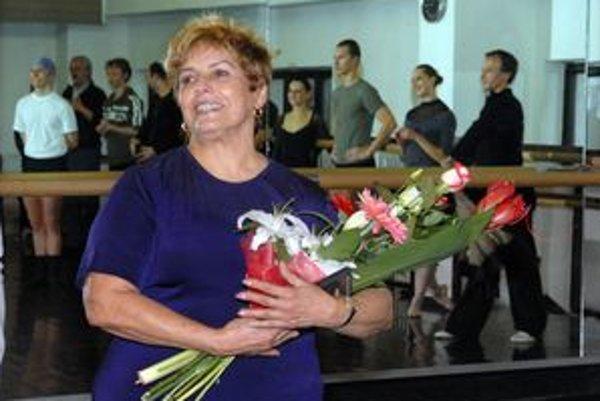Laura Alonso. Strávila s košickými tanečníkmi hodinu na skúške. Sólisti to označili za nezabudnuteľný zážitok.