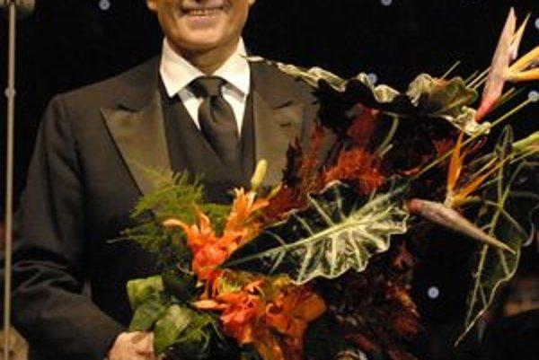 José Carreras nadchol košické publium, košické publikum nadchlo Carrerasa.