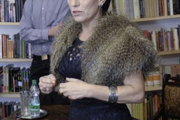 Eva Reichelová. Je uznávanou psychologičkou.