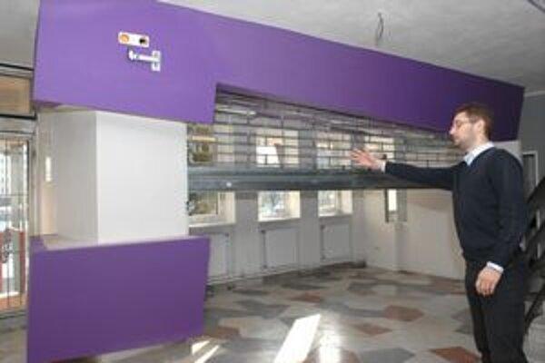 Nová dizajnová kancelária. Rekonštrukcia stojí 17-tisíc eur.
