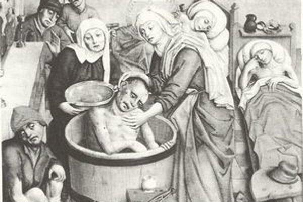 Jeden z výjavov na oltári v Dóme sv. Alžbety.
