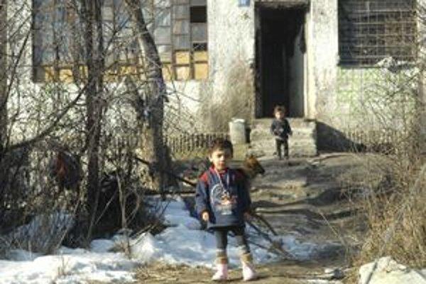 Príbytky bez tepla. Lokalita Moňov potok je jednou z nich.
