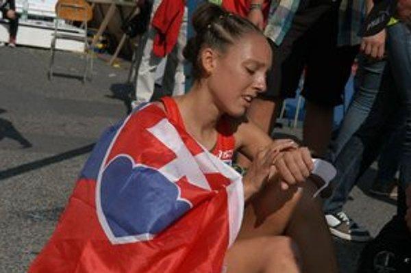 Katarína Berešová. Maratón je pre ňu aj boj s časom a olympijskými vyhliadkami.
