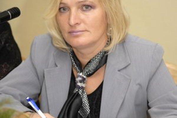 Starostka Anna Jenčová.