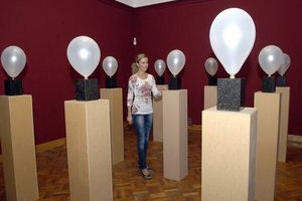 Netradičné. Tvorbu M. Kusendu nájdete v galérii do 22. apríla.