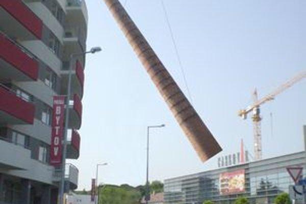 Takmer 26-ton tehál letelo vzduchom