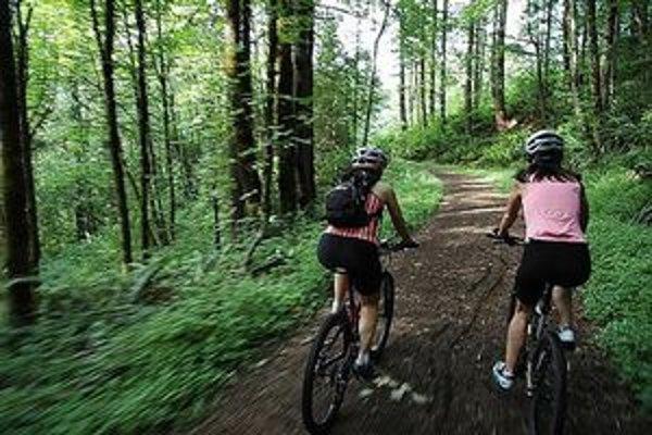 Cyklisti by privítali viac možností na jazdu po prírode.