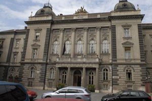 Budova rektorátu UPJŠ.