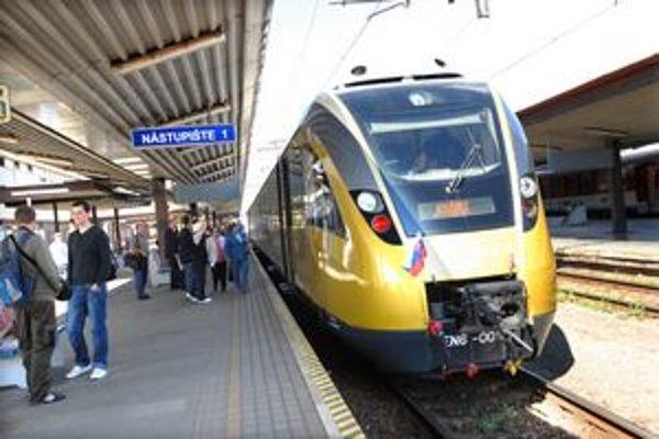 Vlak Totus Tuus. Do Košíc prišiel po prvý raz v roku 2008.