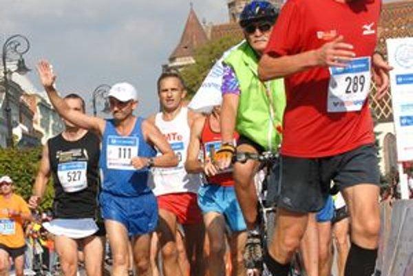 M. Dzurinda počas maratónu v októbri 2011.