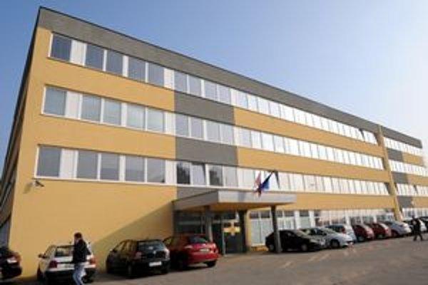 Nové sídlo daňových úradov na Rozvojovej ulici v Košiciach.