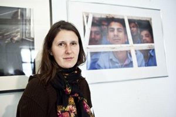 Lenka Jakubčáková. Mladá fotografka sa venuje životu väzňov.