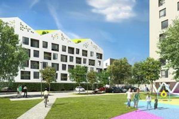 Tak by to malo vyzerať. Zanedbané pozemky pod nemocnicou by sa mali zmeniť na rezidenčný komplex do zhruba dvoch rokov.
