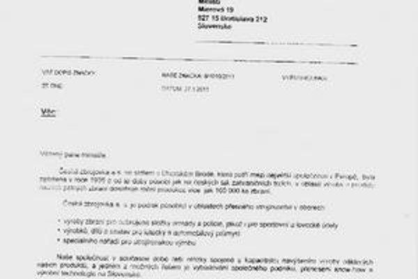 List z Česka. Zamestnanci recyklačného podniku i ministerstvo si ho vysvetľujú úplne inak.