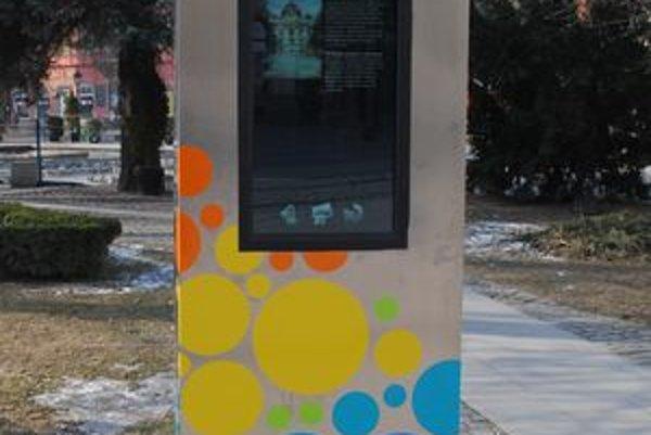 Informačné panely. Návštevníci Košíc sa budú môcť podľa nich orientovať v meste.