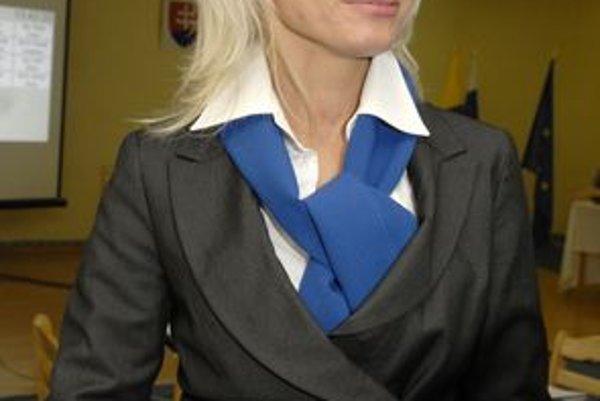 Žena na radnici. Vo vedení Košíc je po 20 rokoch štíhla a mladá lekárka Renáta Lenártová.