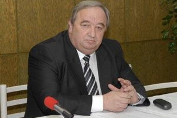Predseda súdu Imrich Volkai.