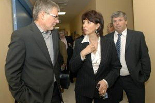 Nataša Džunková. Bývalá riaditeľka VOÚ zostáva pracovať v ústave ako primárka na krčnom.
