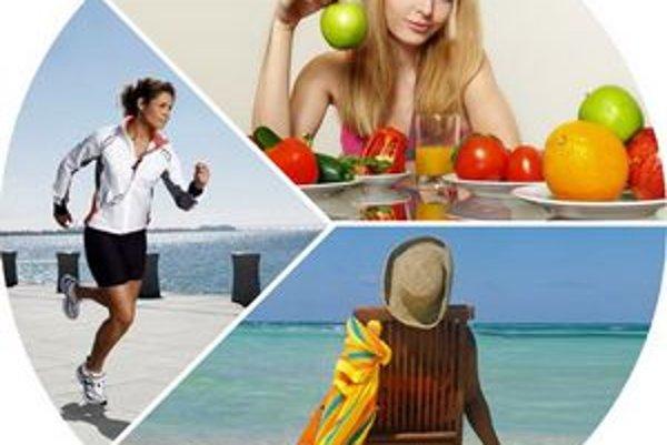 Dôležitá je trojkombinácia zdravého životného štýlu, pohybu a relaxu.
