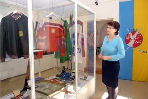 Hokejová horúčka. Zachvátila aj Slovenské technické múzeum.