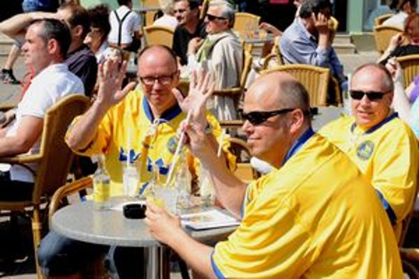 V Košiciach sa páčilo aj švédskym fanúšikom.