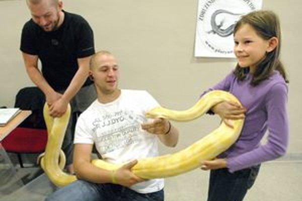 Hady. Na výstave je čo obzerať.