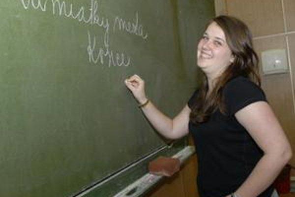 Za pár mesiacov sa naučila celkom slušne po slovensky.